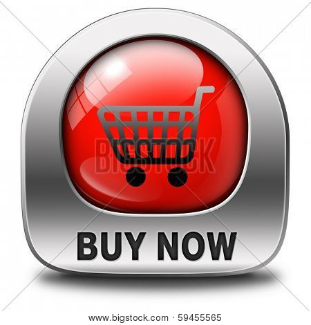 buy now and here icon online sales sell on internet shop online shop buying and add to cart button shopping webpage red button