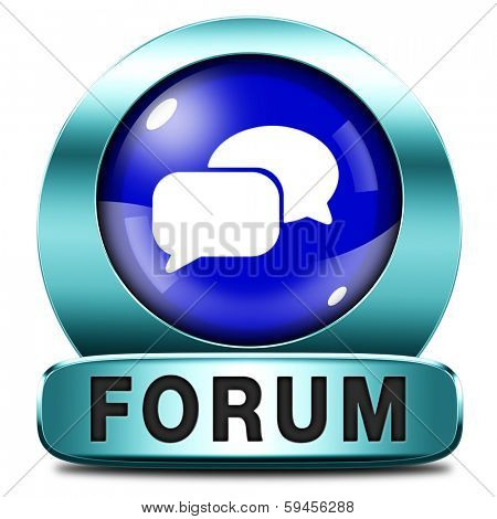 forum icon or button website www logon login and subscribe to participate in discussion