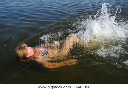 Swiming.