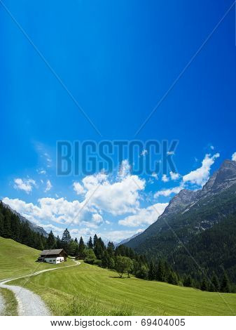 in the lechtal alps
