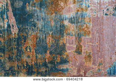 Rust metal texture for use as background poster
