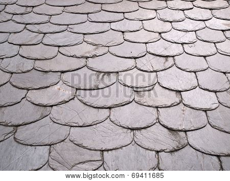 Roof Slate Background