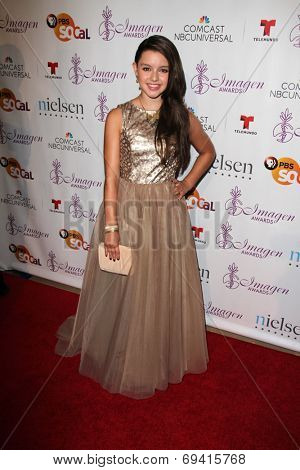 LOS ANGELES - AUG 1:  Fatima Ptacek at the Imagen Awards at the Beverly Hilton Hotel on August 1, 2014 in Los Angeles, CA