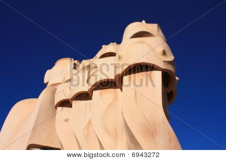 Barcelona And Gaudi­: La Pedrera Or Casa Mila