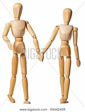 Mannikin Couple