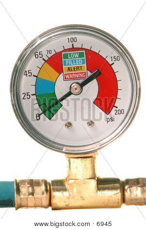 Air Conditioner Pressure Gauge