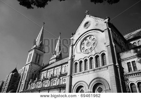 Abtract Architecture Of Duc Ba Cathedral