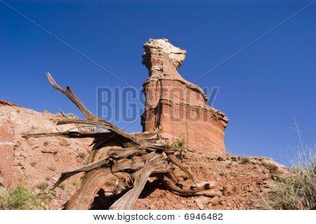 Lighthouse Peak In Palo Duro Canyon