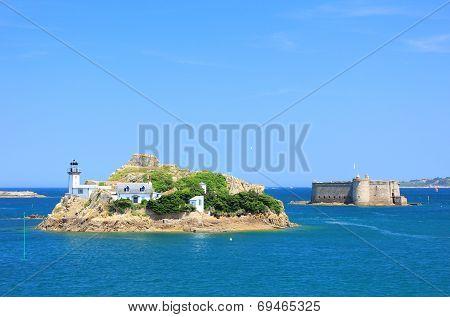 Lighthouse Ile Louet, France