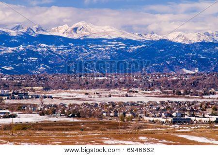 Colorado Winter Mountains