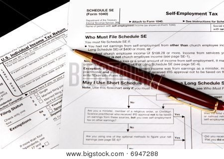 Tax Form For The Self Employed
