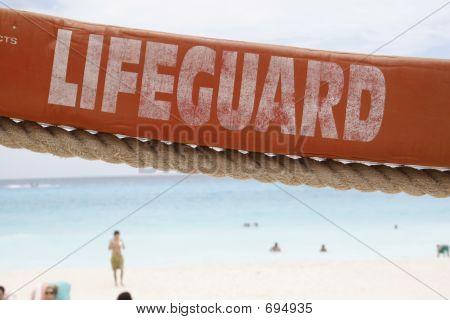 Lifeguard Floating Device Horizontal