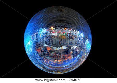 Huge mirrorball/disco ball