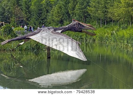 Realistic Model Of Pteranodon