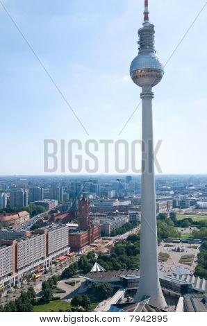 Berlin Skyline Television Tower