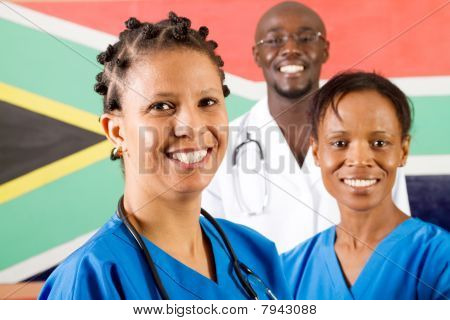 south african medical workers