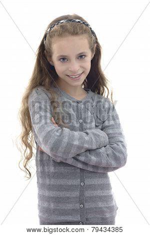 Beautiful Young Girl Posing For Photo