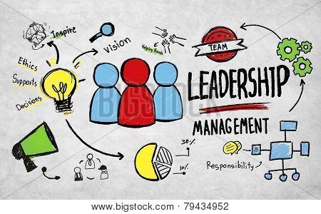 Business Leadership Management Vision Professional Concept