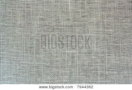 Natural Open Weave Linen Fabric as background