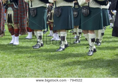 kilts and knee socks