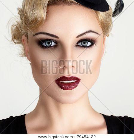 Retro Style Fashion Woman