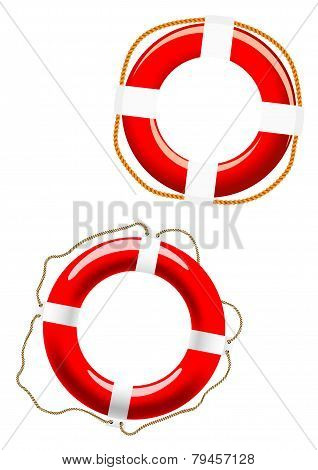 Life Buoy Icons