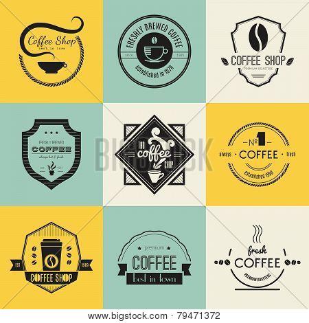 Coffee Shop Logo Collection