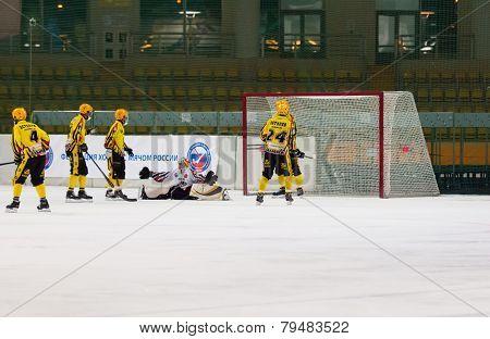 Dissapointed Goaltender