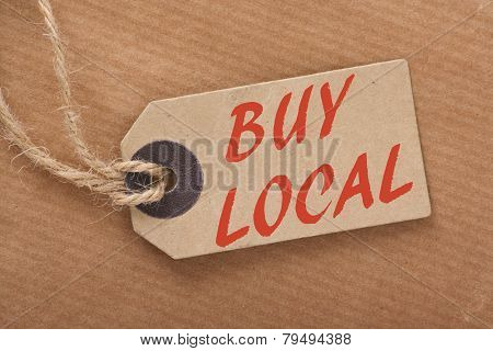 Buy Local Price Tag