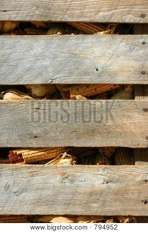 Corn Crib Background