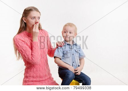 Mom Does Not Know What To Do With Your Child