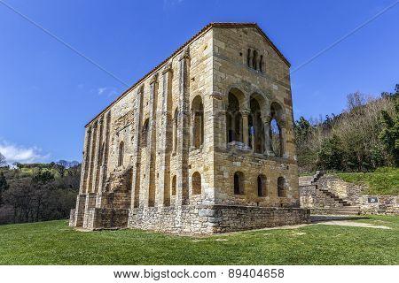 Church Of Santa Maria Del Naranco