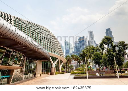 Singapore Landmark: Esplanade Theatres On The Bay