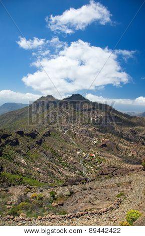 Gran Canaria, Route Cruz Grande - Llanos De La Pez