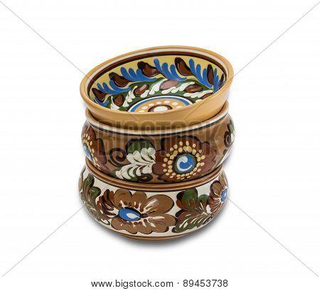 Several Ceramic Bowl