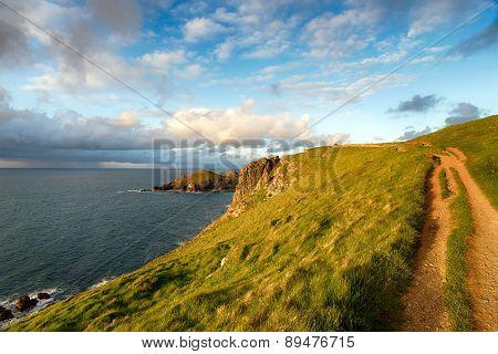 Pentire Head On The Cornish Coast