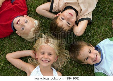 Visages d'enfants