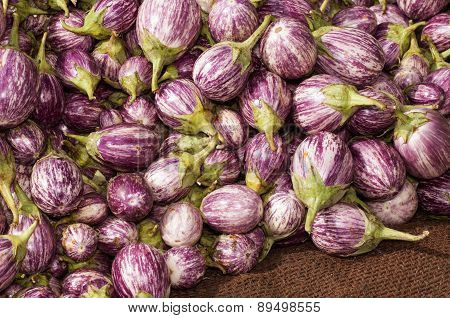 Eggplant Brinjal Vegetable Background