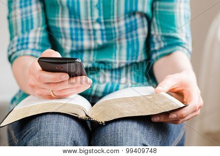 Bible Study With A Smartphone
