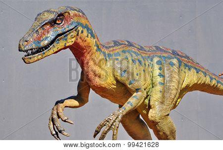 Realistic Model Of Dinosaur