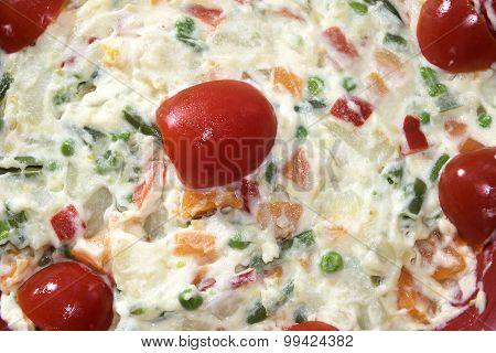 Homemade Russian Salad