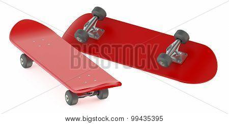 Red Skateboards