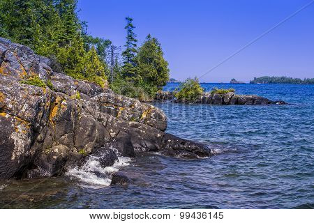 Lake Superior Shoreline, Isle Royale National Park