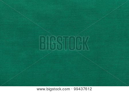 Background From Dark Green Batiste Fabric