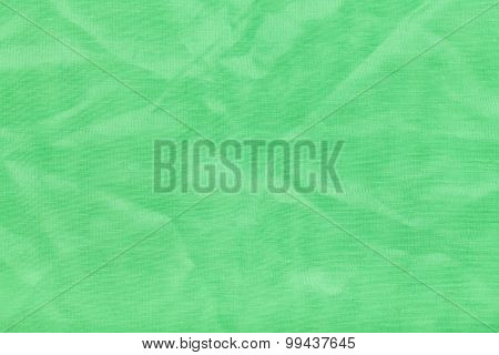 Background From Light Green Batiste Fabric