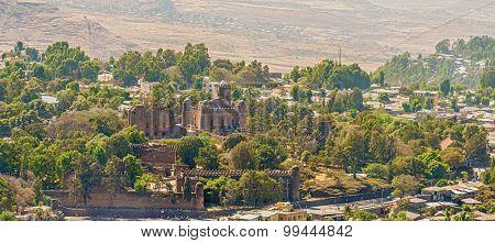 Fasilides Castle In Gondar In Ethiopia