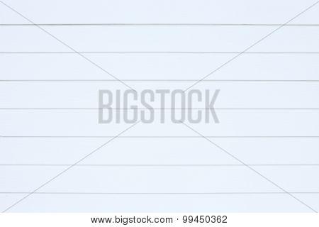 White Wood Plank Background