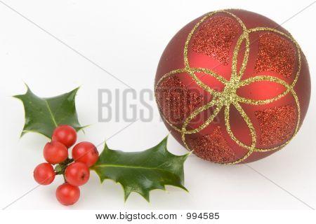 Holly & Decoration