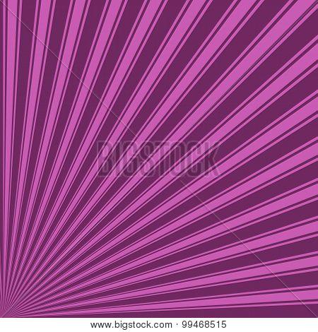Byzantium Color Stripe Funky Sun Rays Backgound