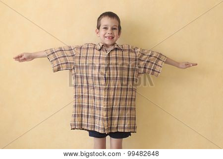 daddy's shirt